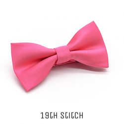 Rose Pink Bow Tie