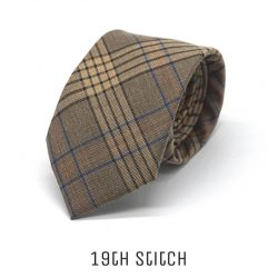 Brown with Blue Plaid (w)