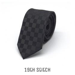 Black with Chess Pattern